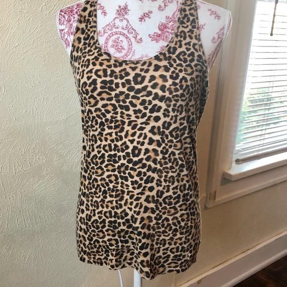 9e7ea1b9c43f2 Pink Victoria s Secret Leopard Print Tank Top Sz M.  M 5b23f22eaaa5b81b33f881d0